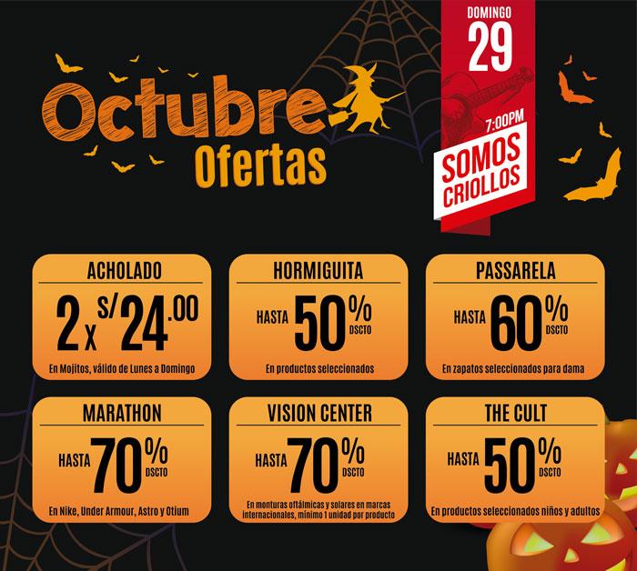 Plaza del Sol Huacho - Ofertas octubre