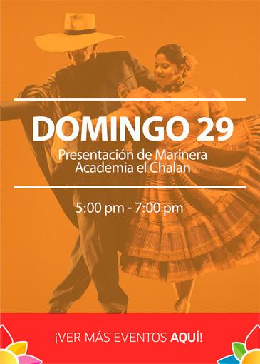 Plaza sol Huacho  - Eventos Marzo
