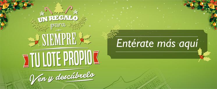 ¡Esta Navidad Plaza del Sol tiene el mejor regalo: Tu Lote Propio!