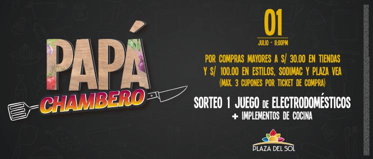 EL PAPÁ MÁS CHAMBERO – 1