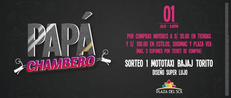 EL PAPÁ MÁS CHAMBERO – 2