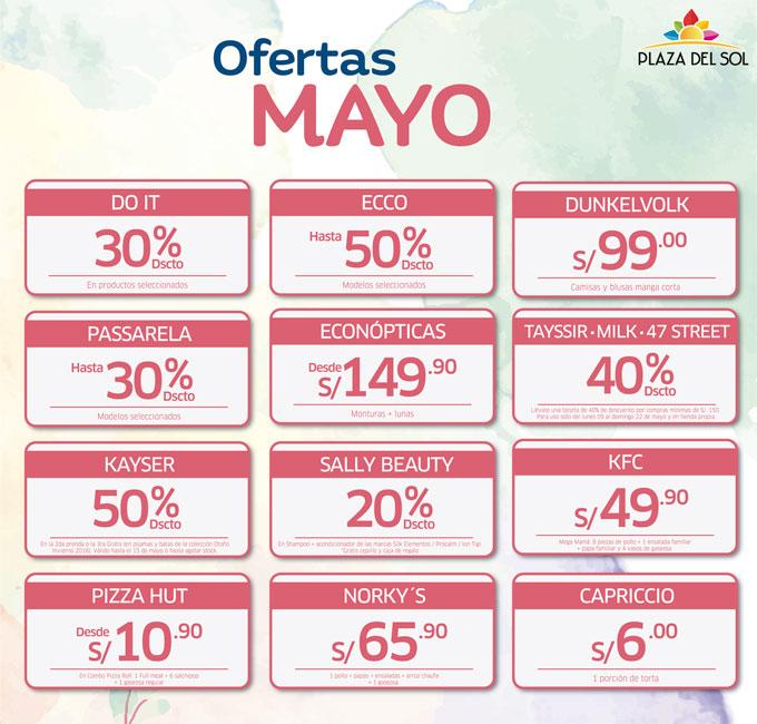 Plaza del sol Ica - Ofertas Mayo