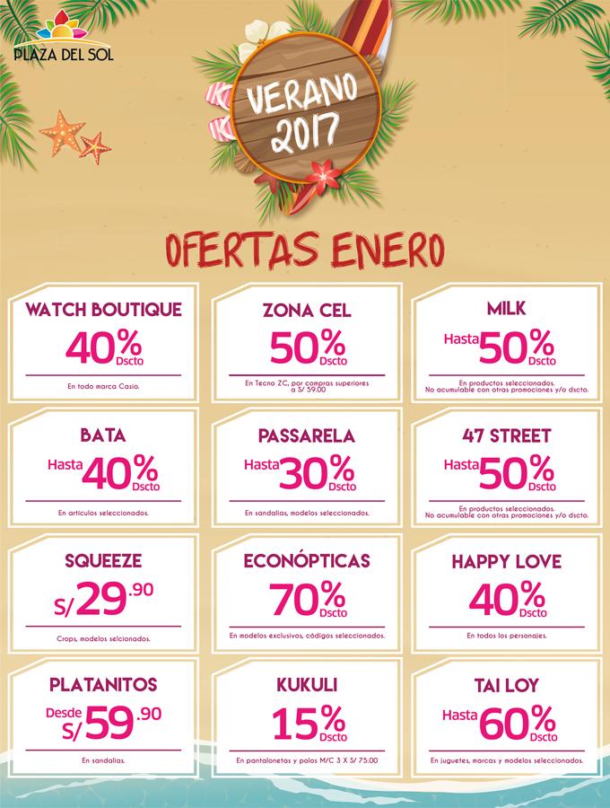 Plaza del sol Ica - Ofertas enero