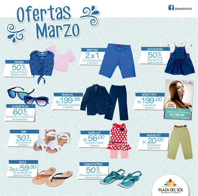 Plaza del Sol Ica - Ofertas Marzo
