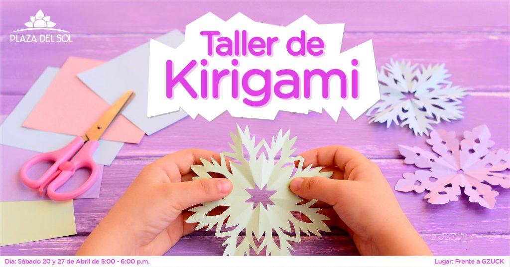 Taller de Kirigami
