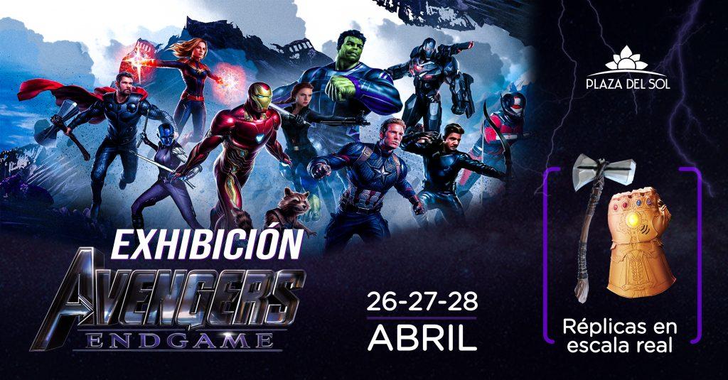 Exhibición Avengers
